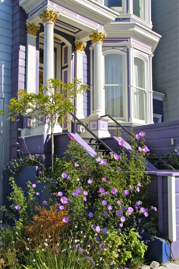 victorian painted lady porch - photo #41