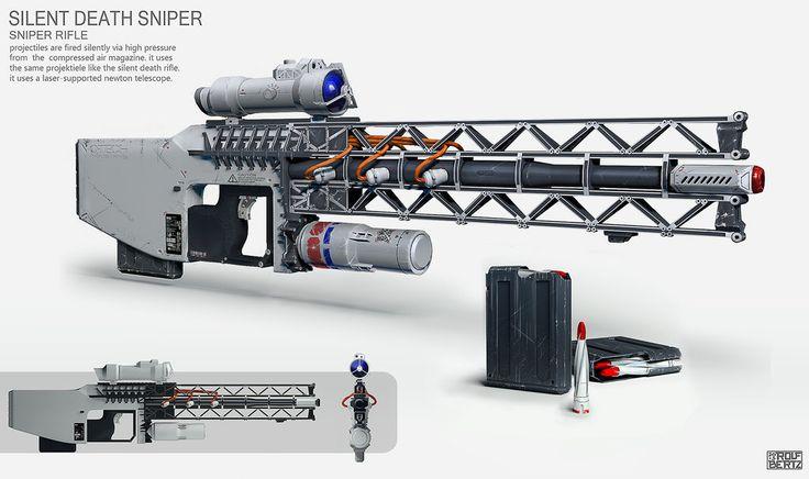 Sniper Rifle Concept by ~Rofelrolf on deviantART