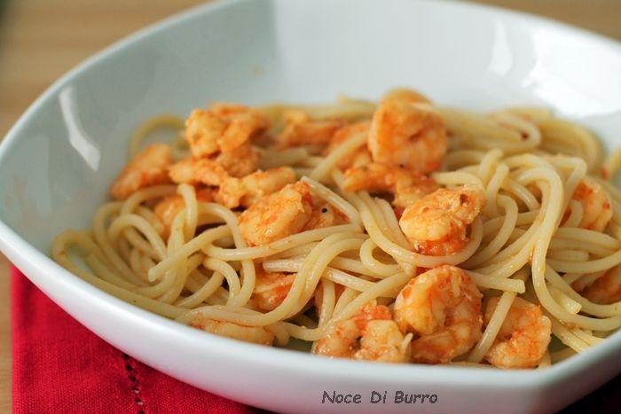 Spaghetti+con+pomodorini+e+gamberetti