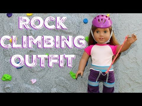 Our Generation Doll Rock Climbing Outfit - YouTube