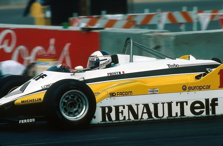 Alain Prost (Renault) Grand Prix des USA 1982 - Las Vegas - Formula 1 HIGH RES photos (Old and New) Facebook.