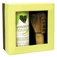 Has your mom caught on to the growing matcha trend yet?  Give this premium u-matcha gift set to make sure she has!