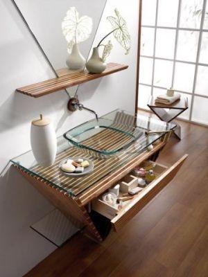 1000 id es sur le th me salle de bains asiatique sur for Meubles japonais contemporains