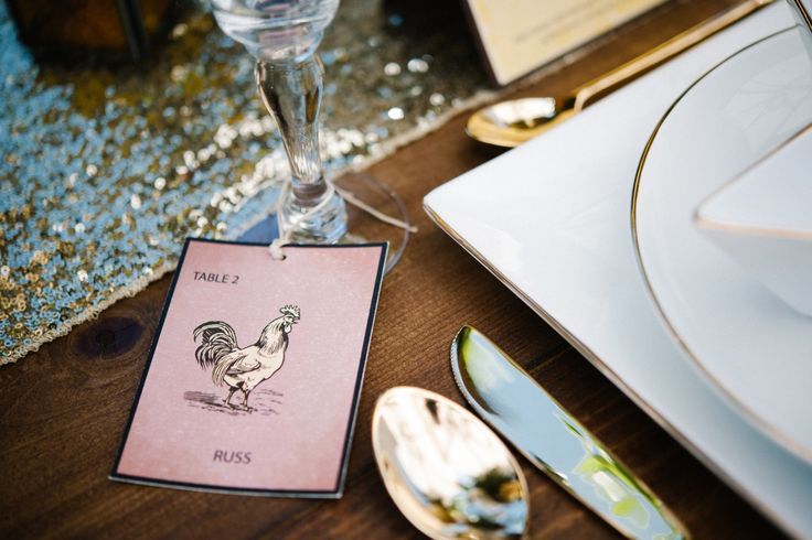 Loteria Inspired Wedding Place Cards / Escort by TakeNoteCreations
