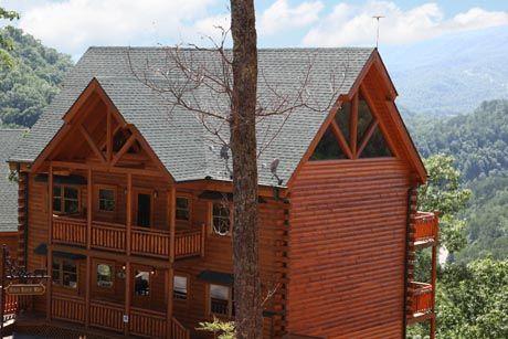 Poolin Around | Pet Friendly Smoky Mountain cabin rental