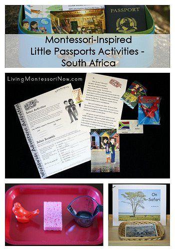 Montessori-Inspired Little Passports Activities - South Africa