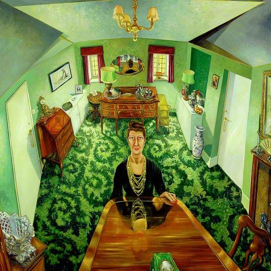 My Mother Alone in Her Dining Room  by Anthony Green (1975)