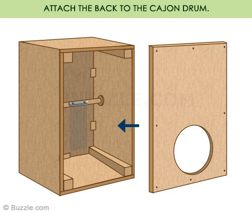 Quick and Easy Steps to Build Your Own Cajon Drum Box in ...