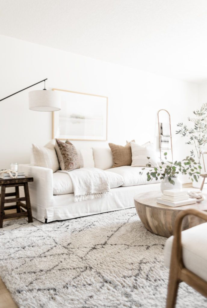 Living Room Update World Market Sofa Reveal In 2020 Living Room Sets Furniture White Sofa Living Room White Couch Living Room #white #rustic #living #room #furniture