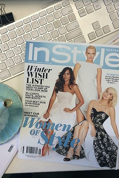 Each guest was given a copy of our gorgeous June issue with Jessica Mauboy, Sarah Murdoch and Asher Keddie on the (fold-out) cover. This special Women of Style issue features all of this year's Award winners.
