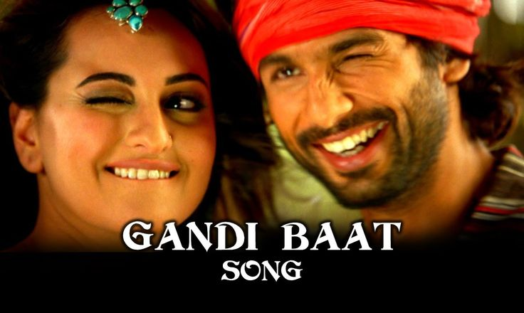 'Gandi Baat' song featuring Shahid Kapoor, Prabhu Dheva, Sonakshi Sinha & Charmy Kaur | R...Rajkumar #Bollywood #Movies #RRajkumar  ... Watch Bollywood Entertainment on your mobile FREE : http://www.amazon.com/gp/mas/dl/android?asin=B00FO0JHRI
