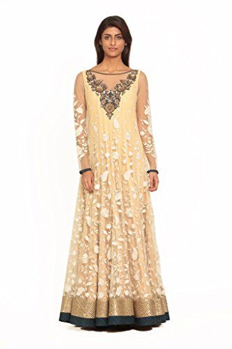 Ritu Kumar Women's Designer Embroidered Full Sleeves Gown – A2Z Smartstore.com