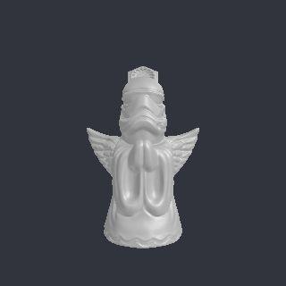 angel free 3D model f6acccc715863ba32d86f485612444a4abdcf806.stl vertices - 73877 polygons - 147754 See it in 3D: https://www.yobi3d.com/v/u4PLtKIn25/f6acccc715863ba32d86f485612444a4abdcf806.stl