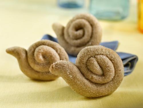 A essayer : Biscuits escargots à la cannelle