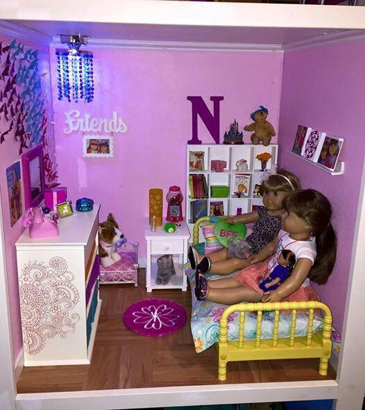 American girl bedroom