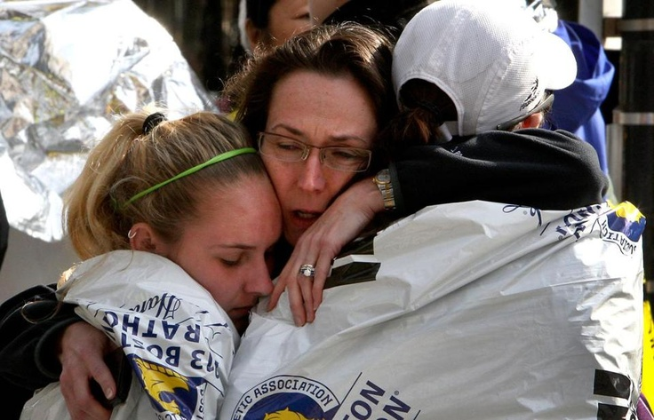 Blasts Rock Marathon Race volunteer Katherine Swierk