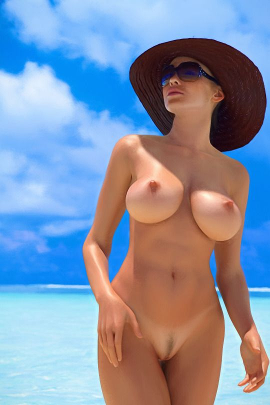 Junior nudist full frontal at beach