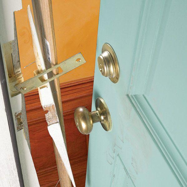 How To Reinforce Doors Entry Door And Lock Reinforcements
