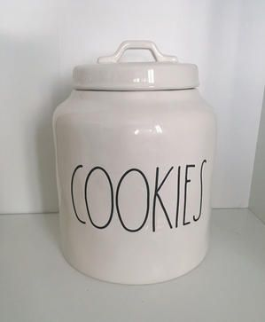 RAE DUNN COOKIES CANISTER!