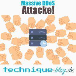 Massive DDoS Attacke auf DNS Service