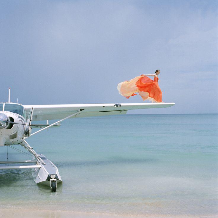 Avion et haute couture