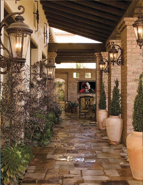 Add outdoor lighting to your home for that added beauty and security.  Shop our collection at royalelighting.com