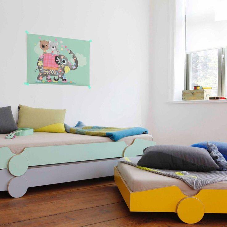 De Breuyn Speedoletto Stapelbett in gelb online kaufen | KidsWoodLove