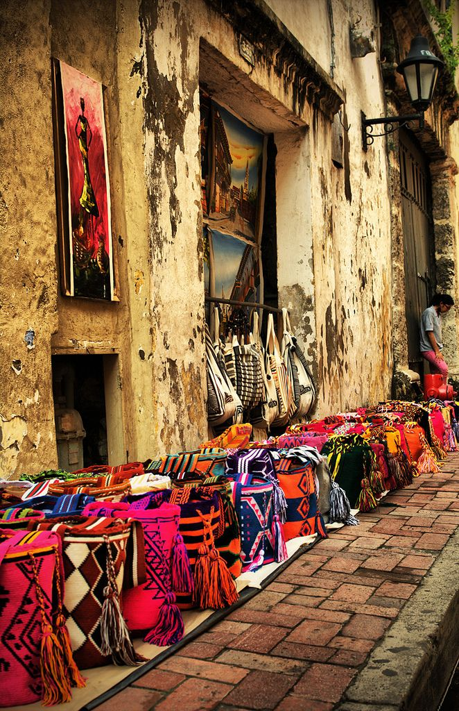 Baskets for Sale - Cartagena, Colombia