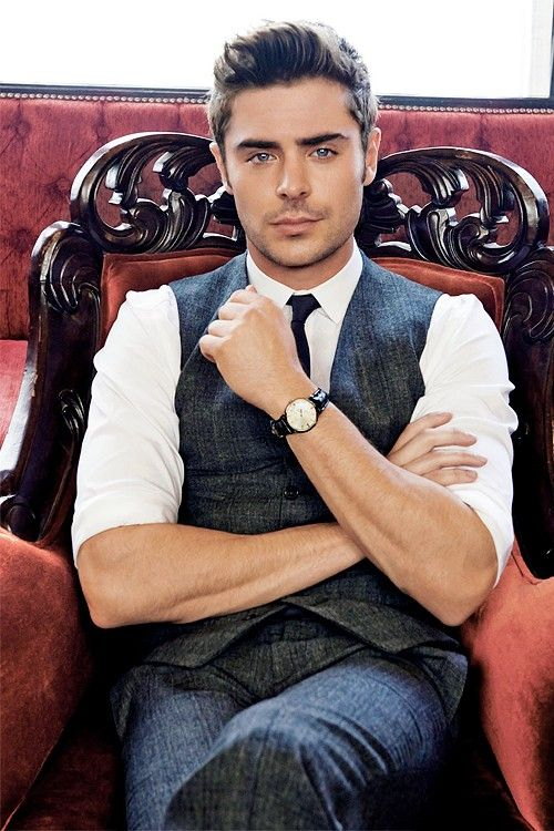 Zac Efron does the classic look almost as good as JGL