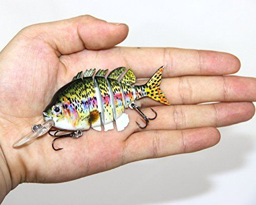 Best price on Discover Fish® New Multi Jointed Jointed Fishing Lures Life-like Hard Lures Bass Bait Swimbait Minnow Crank Shad Herring Bass Pike Muskie(1pcs) // See details here: http://bigfishmart.com/product/discover-fish-new-multi-jointed-jointed-fishing-lures-life-like-hard-lures-bass-bait-swimbait-minnow-crank-shad-herring-bass-pike-muskie1pcs/ // Truly a bargain for the inexpensive Discover Fish® New Multi Jointed Jointed Fishing Lures Life-like Hard Lures Bass Bait Swimbait Minnow ...