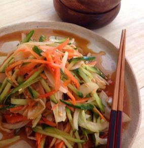 抱えて食べたい!切り干し大根と新玉ねぎのサラダ|レシピブログ