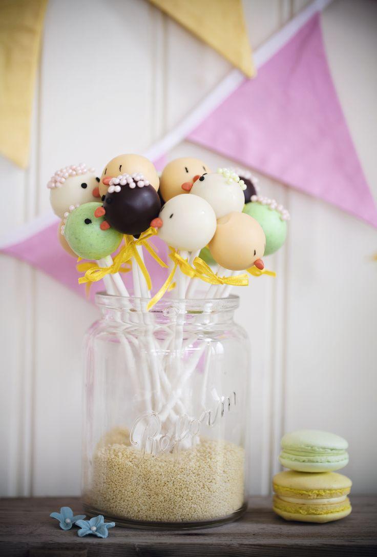 cakepops, påskgodis,