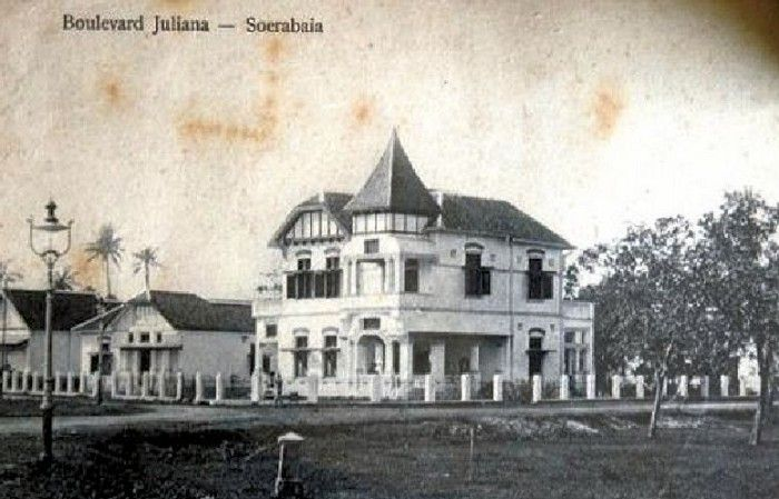 Juliana Boulevard.Soerabaja. Unknown date (Dok.Oud Surabaya)
