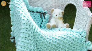 Crochet Crocodile Stitch Afghans
