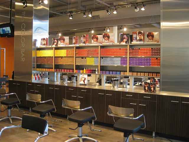 135 best images about shelf on pinterest for A paul mitchell salon