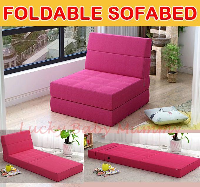 Qoo10 Foldable Sofabed Furniture Deco Foam Sofa Bed Sofa