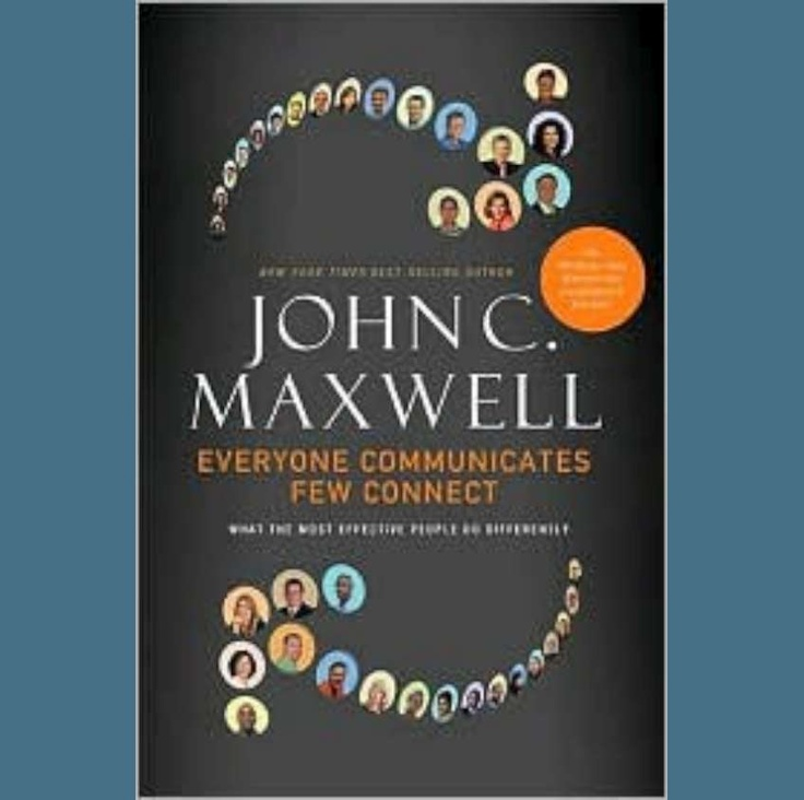 Andy Albright's book club book of the month for November 2012. | Everyone Communicates Few Connect by John C. Maxwell | $25.99