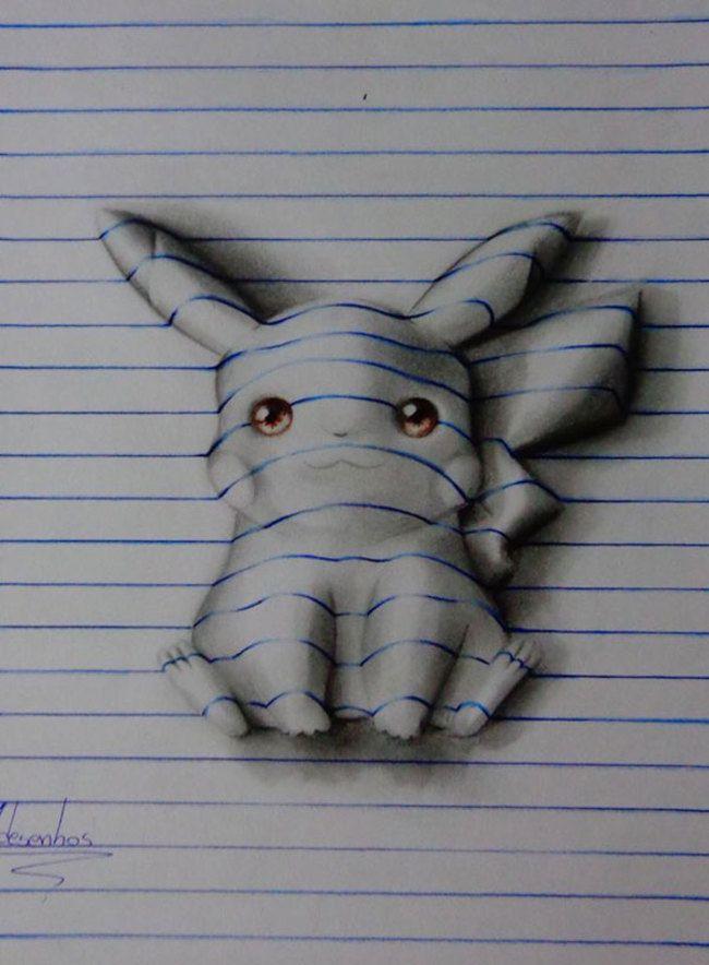keren-teknik-menggambar-sketsa-3d-gambar-seperti-keluar-dari-kertas-19