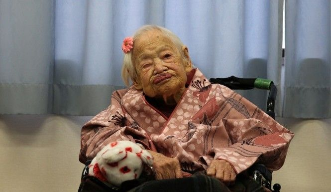 Misao Okawa, world's oldest person dies at 117 years old.  http://www.inquisitr.com/1974565/worlds-oldest-person-dies-at-117-years-old/