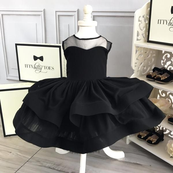 Chelsea Dress (Black) - Baby Shop Online