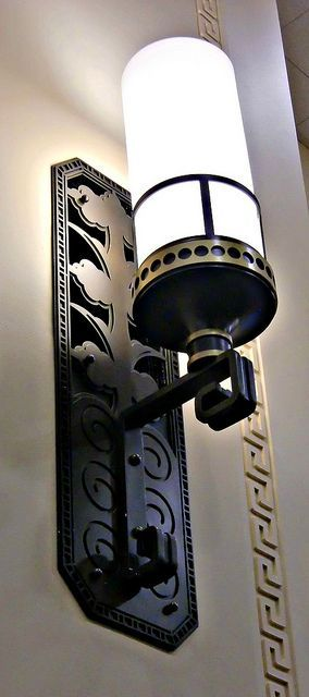 Art Deco Interior-wall-lamp
