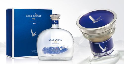 Grey Goose VX via @thedieline