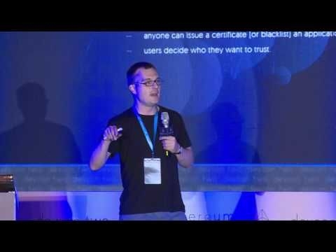 """Ethereum in private blockchain JP Morgan Quorum built in collaboration with EthLab co-founded by Jeffrey Wilcke an Ethereum core developer is """"a minimalist range of the Go Ethereum client"""" and a """"derivative of Go Ethereum."""" It allows hundreds of transactions per second depending on the presentation and increasing privacy intelligent contracts can only be validated by the parties to the contract.  The presentation shows a high-level view of the private architecture of the block chain with…"""