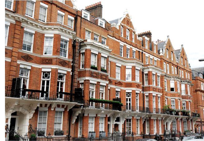 Mayfair Row House Green Street Mayfair House