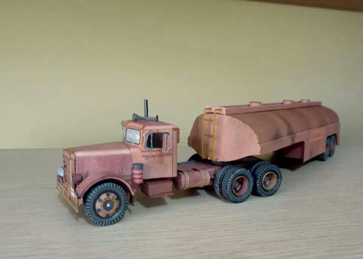 "MODEL TRUCK...from the film DUEL"" with Denis Weaver..."