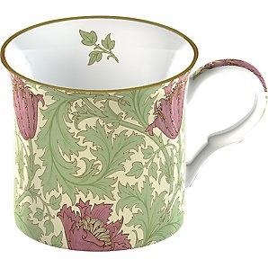 William Morris-ish mug