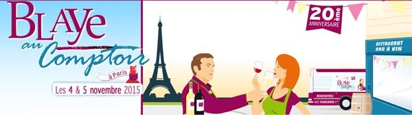 Blaye au Comptoir Paris 2015 #vin #Bordeaux #CotesdeBordeaux