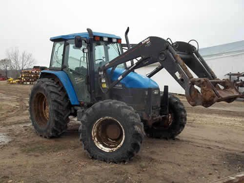 Used New Holland TS110 Tractor Parts Tractors, New