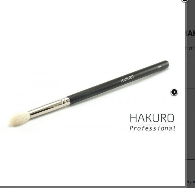 ŠTĚTEC NA KOUŘOVÉ VÉČKO Hakuro H74 - na rozblendění stínů více barev