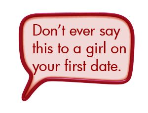 First online date tips